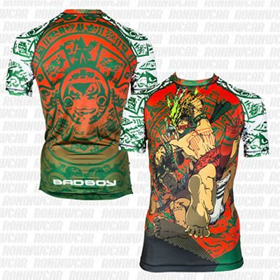 Bad Boy Warrior Society Rash Guard Zöld