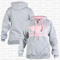 Bad Boy Womens Fleece Grey-Pink