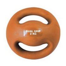 Amaya Dual Grip Medicine Ball 2kg Laranja