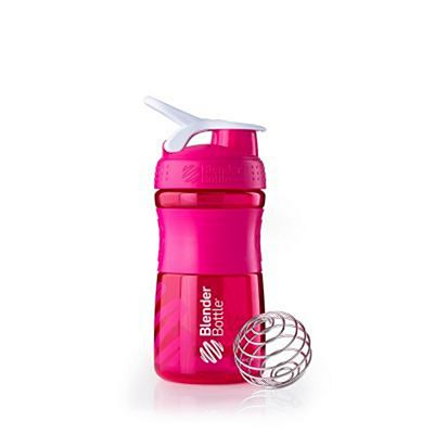 BlenderBottle SportMixer WaterBottle Pink