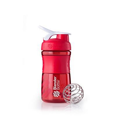 BlenderBottle SportMixer WaterBottle Red