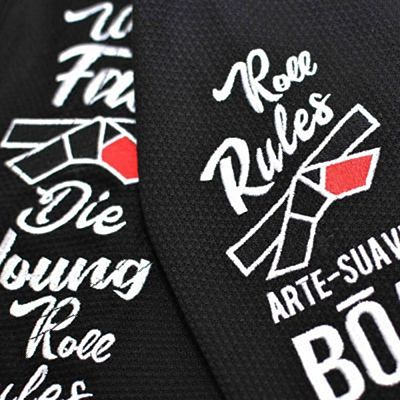 Boa Roll Rules BJJ Gi Preto