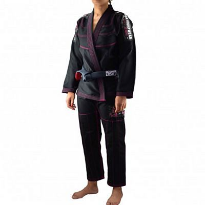 Boa Treinado 3.0 Ladies BJJ Gi Black