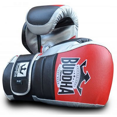 Buddha Advance Boxing Gloves Black-Red