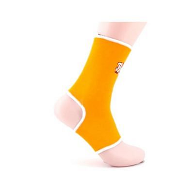 Buddha Ankle Support Muay Thai Naranja