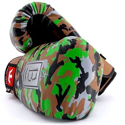 Buddha Army Boxing Gloves Green