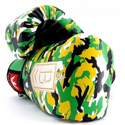 Buddha Army Boxing Gloves Yellow
