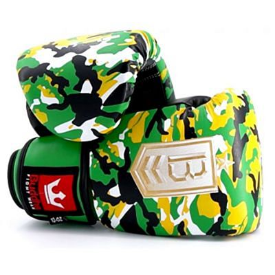 Buddha Army Boxing Gloves Gelb