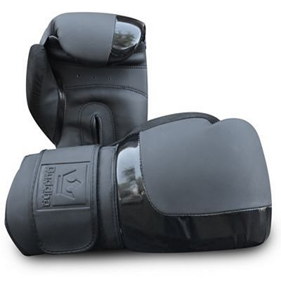 Buddha Black X3 Boxing Gloves Black-Grey