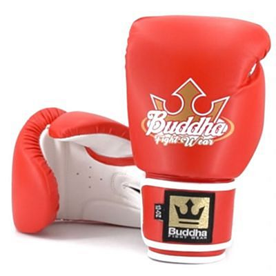 Buddha Boxing Gloves Fight X Red