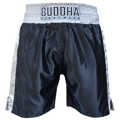 Buddha Boxing Shorts Colors Black-White