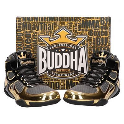 Buddha One Boxing Shoes Gris-Or