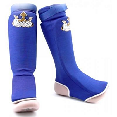 Buddha Cloth Shin & Instep Guards Azul