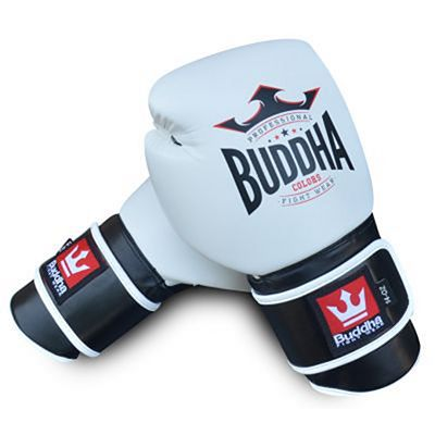 Buddha Colors Boxing Gloves White