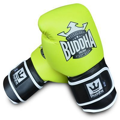 Buddha Colors Boxing Gloves Yellow