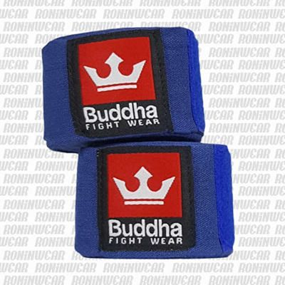 Buddha Elasticated 4.5m Hand Wraps Azul