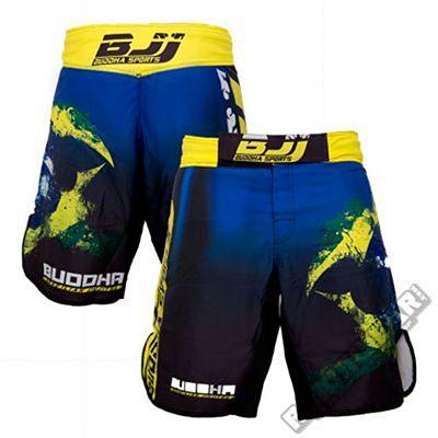 Buddha Extra BJJ Blue-Yellow