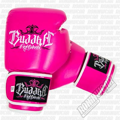 Buddha Fight Boxing Gloves Rosa