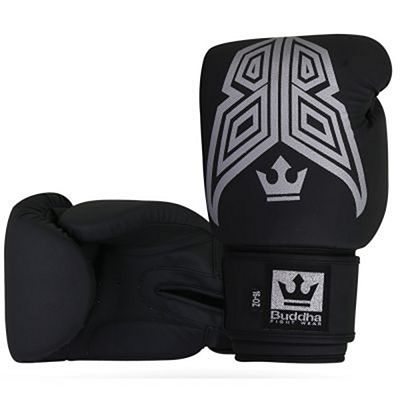 Buddha Fight X Oxid Boxing Gloves Black