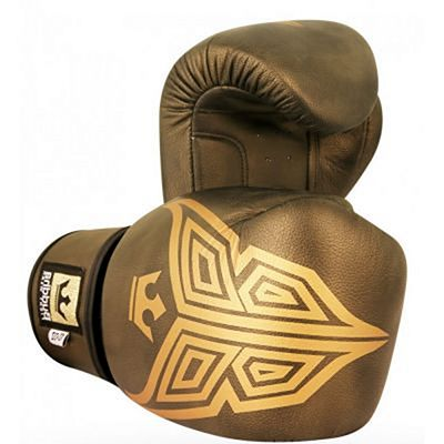 Buddha Fight X Oxid Boxing Gloves Gold