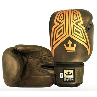 Buddha Fight X Oxid Boxing Gloves Oro