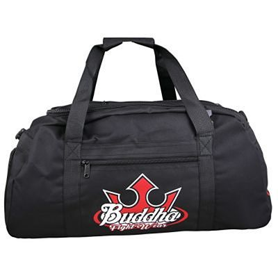 Buddha Fighter Convertible Backpack Black
