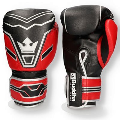 Buddha Future Boxing Gloves Black-Red