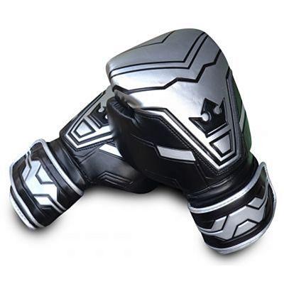 Buddha Future Boxing Gloves Argent-Noir