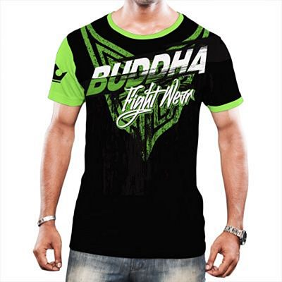 Buddha Green X T-shirt Black-Green