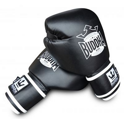 Buddha Kids Boxing Gloves Black