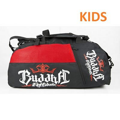 Buddha Kids Converter Backpack 2.0 Black-Red