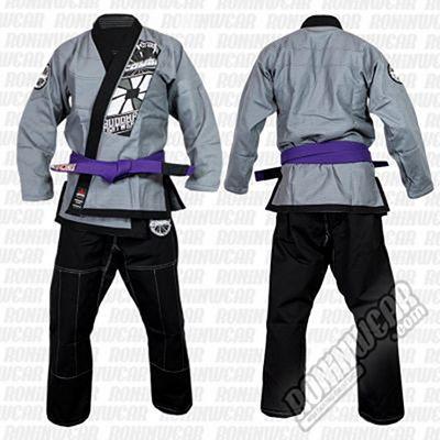 Buddha Kimono BJJ Extra Combo 2 Chaquetas Musta-Hopea