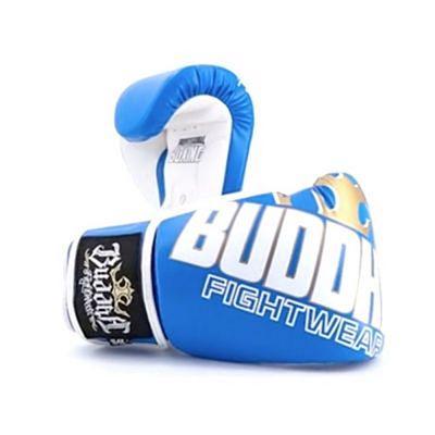 Buddha Millenium Boxing Gloves Blue