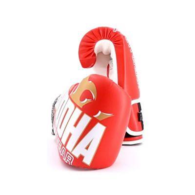 Buddha Millenium Boxing Gloves Red