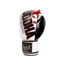 Buddha Millenium Boxing Gloves White-Black