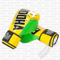 Buddha Millenium Boxing Gloves Yellow-Green