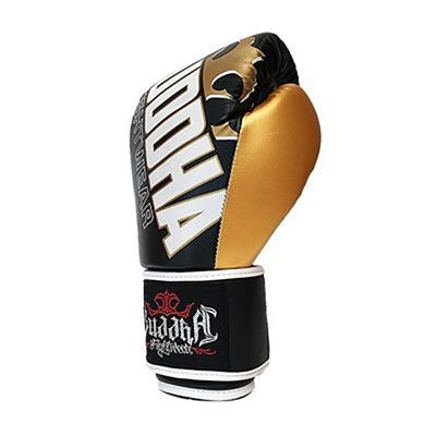 Buddha Millenium Kids Boxing Gloves Black-Gold