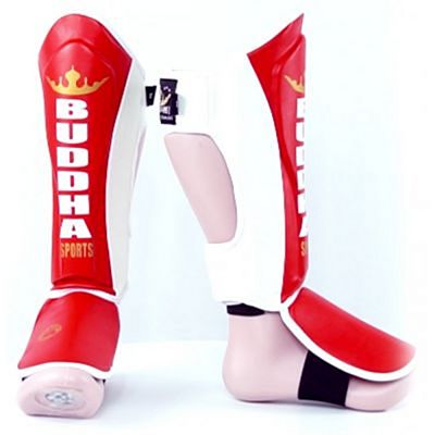 Buddha Millenium Shinguards Red-White