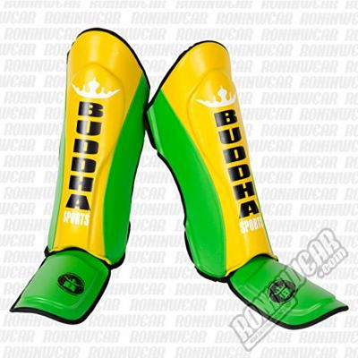 Buddha Millenium Shinguards Yellow-Green