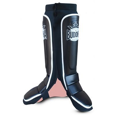 Buddha MMA Pro Series Shinguards Black