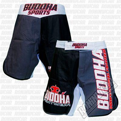 Buddha MMA Shorts Extra Millenium Grå