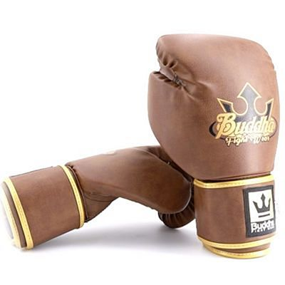 Buddha Old School Fight X Boxing Gloves Brown