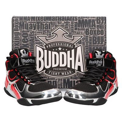 Buddha One Boxing Shoes Black-Silver