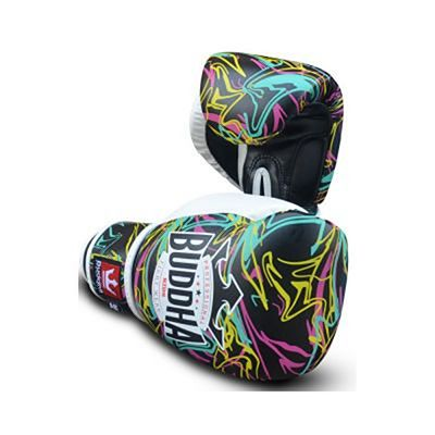 Buddha Pikachu Kids Boxing Gloves Black