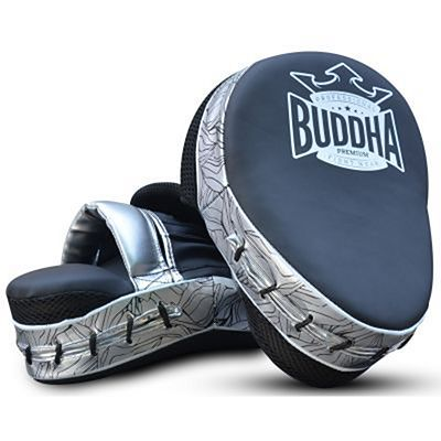 Buddha Premium Curved Focus Mitts Black