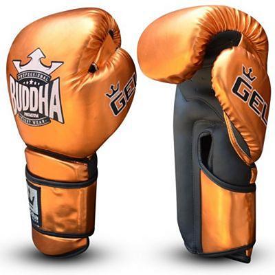 Buddha Pro Gel Boxing Gloves Bronze