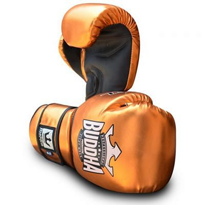 Buddha Pro Gel Boxing Gloves Bronze