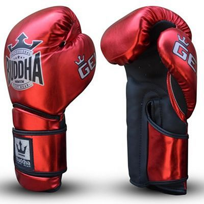 Buddha Pro Gel Boxing Gloves Red