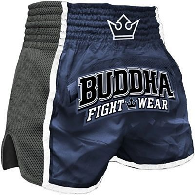 Buddha Retro X Muay Thai Shorts Blu