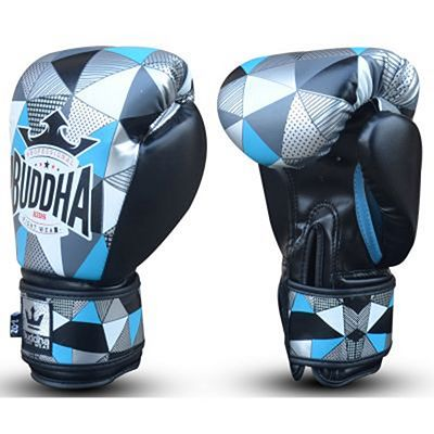Buddha Scar Kids Boxing Gloves Blue